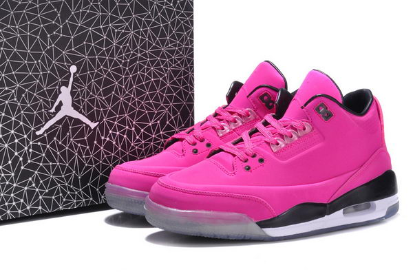 Womens Jordan 3LAB5 GS Shoes Pink/black white